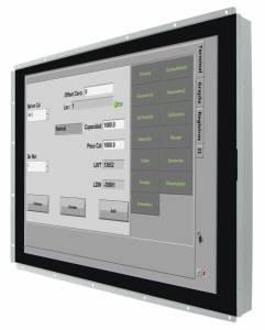 """R12L100-POM2-C 12.1"""" Open Frame LCD дисплей, разрешение 1024x768, яркость 500 кд/м2, контрастность 700:1, 16.2 млн. цветов, емкостный сенсор, вход только USB, питание USB Type-C"""