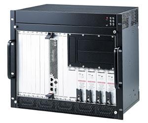 cPCIS-3330/AC 9U CompactPCI корпус с 6U 8-слотовой пассивной объединительной платой 32 бит и 4 дублированными источниками питания переменного тока cPS-H325/AC