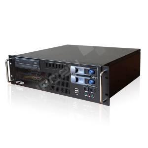 "iROBO-2000-30i4TRGH Промышленный компьютер 3U/19""/Intel Core i3-3220 3.3ГГц/4Гб DDR3/2xГб LAN/2x1000Гб SATA HDD Hot Swap/RAID 0,1/6xUSB/2xCOM/4xPCI,1xPCIe-16(G3),1xPCIe-16(4)/1xPCIe-4(1)/DVD-RW/400Вт ATX"