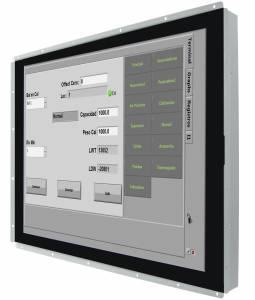 """R15L600-POC3-C 15"""" Open Frame LCD дисплей, разрешение 1024x768, яркость 250 кд/м2, контрастность 2000:1, 16.2 млн. цветов, емкостный сенсор, вход только USB, питание USB Type-C"""