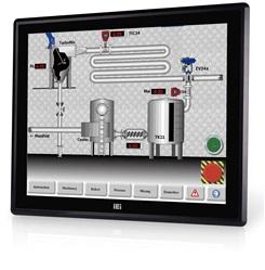 """DM-F17A/PC Промышленный 17"""" LCD монитор, разрешение 1280x1024 SXGA, яркость 350кд/м2, емкостный сенсорный экран, алюминиевая передняя панель IP65, 1xVGA, 1xDP, 1xHDMI, 1xUSB 2.0, 1x-RS-232, питание 9-36В DC"""