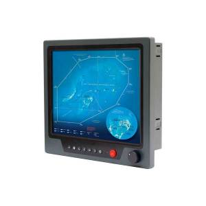 "NPD1744-EGAW-J011 17"" TFT LCD LED монитор для морского применения, AD5827, 1000 нит, 1280x1024, 2xVGA, 2xDVI, 3xCompositex, питание 9-36В DC, с адаптером"