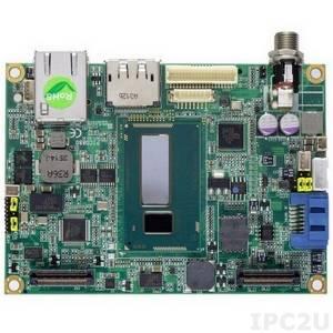 PICO880PGA-i5 4300U Процессорная плата PICO880 с процессором Intel Core i5-4300U 1.9ГГц, до 8Гб DDR3, DP/LVDS, LAN, USB, audio, кулер, радиатор, кабели