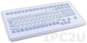 TKS-088c-TOUCH-KGEH-USB Промышленная IP65 настольная клавиатура, 88 клавиш, тачпад, USB