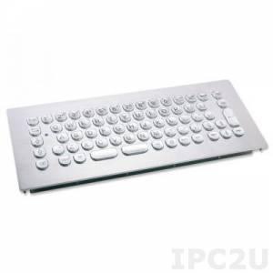 TKV-068-MODUL-USB Встраиваемая промышленная вандалоустойчивая IP65 клавиатура, 68 клавиш, USB