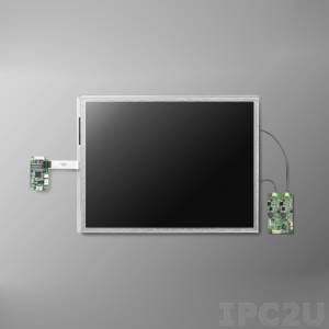 "IDK-2112R-K2SVA2E 12,1"" LCD 800 x 600 Open Frame дисплей LED, 1200нит, резистивный сенсорный экран (USB), LVDS"