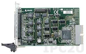 cPCI-8554 Плата ввода-вывода cPCI, 8 каналов DI, 8 каналов DO, TTL, 10-канальный 16 бит таймер/счетчик
