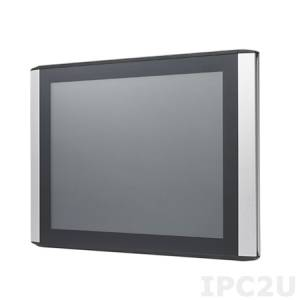 """ITM-5115R-MA1E Промышленный 15"""" TFT LCD монитор с IP54 по всему корпусу, XGA, 1280x1024 резистивный сенсорный экран, ударопрочная пластиковая (ABS) передняя панель, VGA, DVI-D, вход питанния 12 В DC"""