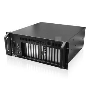 "iROBO-2000-43i4F-G3 Промышленный компьютер 4U/19""/Intel Pentium G4400 3.3ГГц (Skylake)/4Гб DDR4/1000Гб SATA3 HDD/DVD-RW/DVI-I/2xГб LAN/1xCOM(до 5)/6xUSB/8xPCI/3xPCIEx1/1xPCIEx16/БП 400Вт"