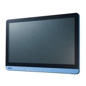 "PDC-W240-A10-AGE 23.8"" LCD монитор LED, Full HD 1920 x 1080, 250 нит, IP54 со всех сторон, разъемы HDMI/DP/DVI/VGA, Audio, питание 12В DC-in, адаптер питания AC-DC"