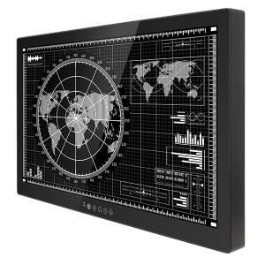 """M320TF-MIL GS-HB 32"""" TFT LCD монитор, IP65 по передней панели, разрешение UHD 4K (3840x2160), яркость 700 нит, антибликовое стекло, VGA, DVI, HDMI, 3G SDI, Audio, RS-232, USB питание 24В DC"""