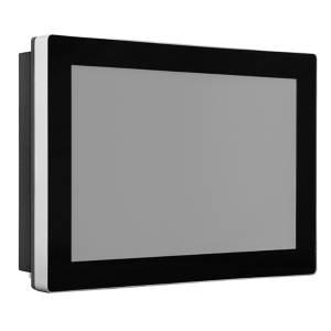"""TDM-P070WT 7"""" промышленный монитор, проекционно-емкостный сенсорный экран, IP65 по передней панели, VGA/DP/HDMI, 800*480, 500нит, -40...75C, 12...24VDC-in, IEC-60945, адаптер питания"""