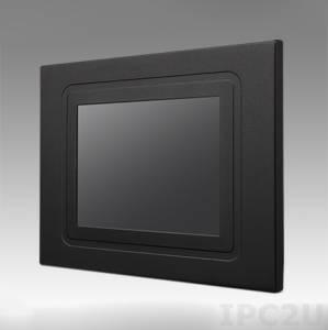 """IDS-3206R-80VGA1E 6.5"""" LCD монитор LED, 640x480, 800 нит, 1xVGA, 1xDVI, 4х-проводной резистивный сенсорный экран (1xUSB), 12V DC-in"""