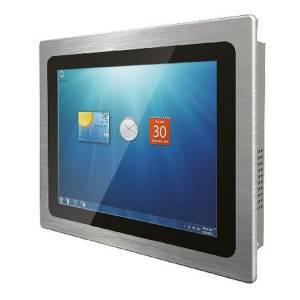 """R10L100-PPT2 Промышленный монитор 10.4"""" LCD LED, 1024x768, 350 нит, емкостный сенсорный экран, VGA+HDMI, адаптер питания AC DC 100-240В, IP65 по передней панели"""