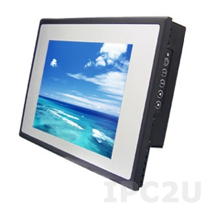 "TM12RSS 10.4"" VGA TFT LCD Monitor, Resistive Touch Screen, LED Backlight, VGA, USB"