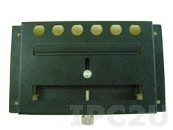 """DK-84MB Крепеж для монтажа дисплеев 8.4"""" на DIN-рейку, сталь, черный"""