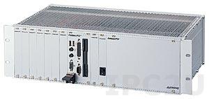 """cPCIS-1100AR 19"""" Корпус 3U CompactPCI с 8-слотовой объединительной платой cBP-3208R 32-бит и источником питания 280Вт ATX, Rear I/O"""