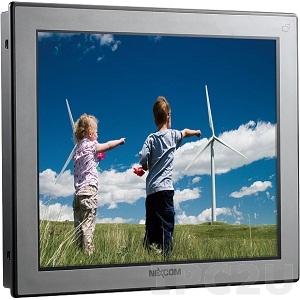"APPD-1701T 17"" 4:3 LCD монитор LED, 350 нит, 1280x1024, 1xVGA, 1xDVI-D, 1xDisplayPort, 5-проводной резистивный сенсорный экран (1xRS232, 1xUSB), IP65 по передней панели, 12-24В DC-in"