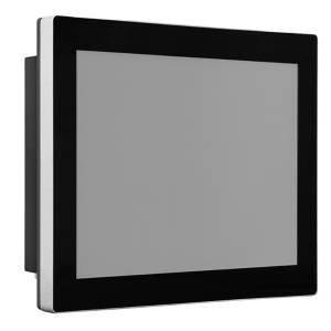 """TDM-P104ST 10.4"""" промышленный монитор, проекционно-емкостный сенсорный экран, IP65 по передней панели, VGA/DP/HDMI, 1024*768, 350нит, -40...80C, 9...36VDC-in, IEC-60945, адаптер питания"""