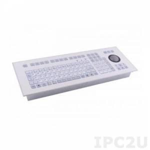 TKS-105c-TB50of80-MODUL-EP-USB Встраиваемая IP65 клавиатура, 105 клавиш, трекбол 50мм, USB