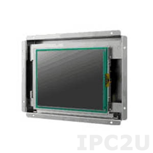 "IDS-3106N-80VGA1E 6.5"" LCD 640 x 480 Open Frame дисплей, 800нит, VGA, DVI-D, вход питания 12В DC, экранное меню"