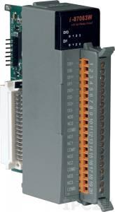 I-87063W Высокопрофильный модуль дискретного ввода-вывода с изоляцией
