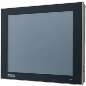 """FPM-212-R8AE Промышленный 12"""" LCD LED монитор с резистивным сенсорным экраном (интерфейс USB), 1024x768, яркость 600 кд/м2, VGA, HDMI, DP, адаптер питания 100-240В AC 60Вт, IP66 по передней панели"""