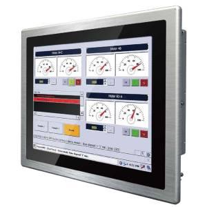 "R17L500-PPA1HB 17"" TFT LCD промышленный монитор,1280x1024, 1000 nits, входы VGA, HDMI, 12В DC-in, адаптер питания 50Вт, IP65 по передней панели"
