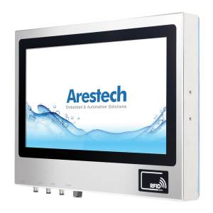 """TPM-3621RW-B6A1 Промышленный LCD монитор 21.5"""" 16:9 (1920 x 1080), 250 нит, нерж.сталь 316, IP66 со всех сторон, резистивный сенсорный экран (USB IP67), 1xVGA M12, 1xHDMI IP67, 12V DC-In M12, -20...60C"""