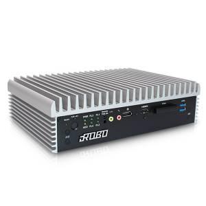 iROBO-6000-320-W Высокопроизводительный встраиваемый компьютер, Q170, Intel Core i3-6100T 3,2 ГГц , 4Гб DDR4, industrial SSD 256Гб 3D TLC 2.5 SATA (до 2-х, RAID 0/1), 2xHDMI, DP, 8xUSB, 4xGb LAN, 4xCOM, 32-bit DIO, 2xMini PCIe, mSATA, CFast, Audio, ИП 120Вт AC
