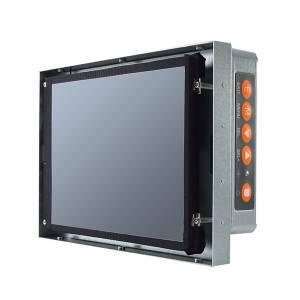 "P6841ON-AC 8.4"" TFT монитор, яркость 450 нит, 800x600, без сенсорного экрана, 1xVGA, 1xDVI, 1xHDMI, адаптер питания AC-DC"