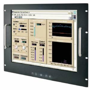"""R19L300-RKM2/PAT/R 19"""" TFT LCD монитор, 1280x1024, 5-проводной резистивный сенсорный экран (RS-232 интерфейс), VGA, HDMI, с блоком питания 100-240В AC, вход питания 12В DC"""