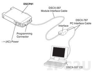 DSCX-440 Кабель для программирования DSCP20