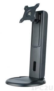 """STAND-A21 Настольная подставка для серии AFL 15""""..21"""", крепление по стандарту VESA 75/100мм, сталь, черный"""