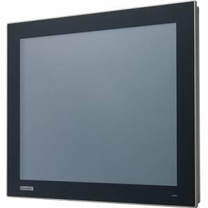 """FPM-217-R8AE Промышленный 17"""" LCD LED монитор с резистивным сенсорным экраном (интерфейс USB), 1280x1024, яркость 300 кд/м2, VGA, HDMI, DP, адаптер питания 100-240В AC 60Вт, IP66 по передней панели"""