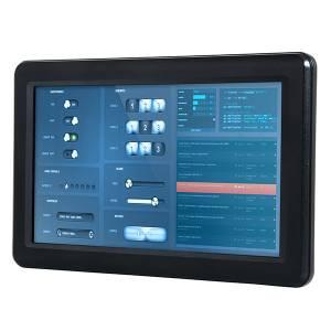 "PPC-090T-D2N4N Безвентиляторная панельная рабочая станция 9"" TFT LCD, Vortex86DX2 933МГц CPU, 1Гб DDR2, SATA Slim слот, CF слот, 2xCOM, 3xUSB 2.0, PS/2, 1xLAN, Аудио, питание 12-24В DC"