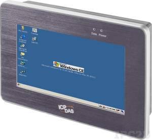 """TP-2070 7"""" TFT LCD монитор с резистивным сенсорным экраном (интерфейс RS-232 и USB), 800x480, VGA, IP65, пластиковый корпус,температурный диапазон -20...+70 С"""
