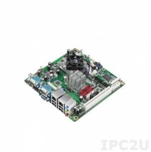 AIMB-223G2-S1A1E Процессорная плата Mini-ITX, AMD eOntario DC 1.0ГГц, до 4Гб DDR3 SO-DIMM, VGA, HDMI, 2xGbe LAN, 4xSATA, 6xCOM, 8xUSB, слоты расширения 1xMini-PCIe, 1xPCIe x1, 1xPCI
