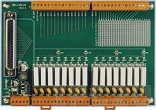 DB-16P16R/DIN Выносная плата 16 дискретных входов и 16 реле с перекидными контактами(250Vac/30Vdc@5A), монтаж на DIN-рейку
