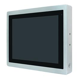 """ViTAM-115RH Защищенный TFT LCD монитор, 15"""", защита IP66/IP69K, VGA/HDMI коннекторы M12, яркость 1000нит, резистивный сенсор, интерфейс USB(M12), питание 9-36В DC, 0-50C, адаптер питания."""