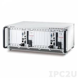 """cPCIS-2842R/AC 19"""" Корпус 4U CompactPCI для двух систем 3U CompactPCI с двумя 6-слотовыми объединительными платами cBP-3206 32-бит и двумя источниками питания cPCI RPSU, поддержка I/O"""