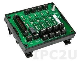 8BP04 Плата клеммников для установки 4 модулей нормализаторов сигналов серии 8B, до 50В