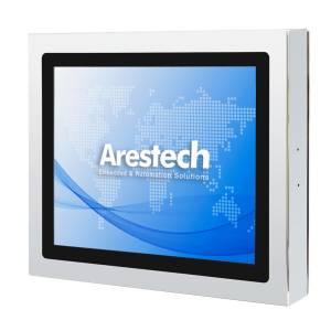 """TPM-3615P-B6A1 Промышленный LCD монитор 15"""" 4:3 (1024x768), 300нит, нерж.сталь 316, IP66/69K со всех сторон, пр.-емкостный сенсорный экран, 1x VGA M12, 1x USB M12, HDMI (IP67 connector), 12..24VDC M12, -20..60C"""