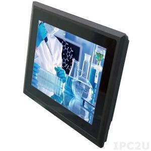 "STR22252-00C Безвентиляторный панельный компьютер с 12.1"" TFT LCD, резистивный сенсорный экран, 2I385CW-I12-00, Intel Atom E3815 1.46ГГц, 2Гб DDR3, 2.5"" Slim HDD, 4xCOM, 2xLAN, 4xUSB, VGA, 2xMiniPCIe, питание 12В DC"