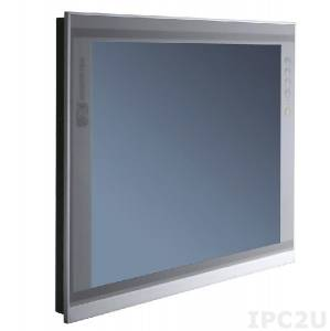 """P6171PR-AC-RS-US-EU-V2 17"""" TFT LCD LED монитор, 1280x1024, яркость 250 нит, резистивный сенсорный экран (RS-232), VGA, DVI-D, HDMI, адаптер питания AC DC"""