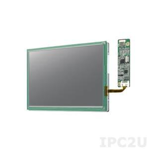 "IDK-1110WR-55WSA1E 10.1"" LCD 1024 x 600 Open Frame дисплей LED, 550нит, резистивный сенсорный экран (USB), LVDS"
