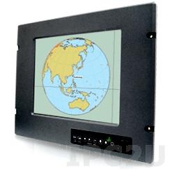 "R10L210-MRM2 10.4"" TFT LCD монитор для морского использования, 800x600, яркость 400 нит, VGA, DVI-D, S-Video, Composite, питание 24В DC, защита по передней панели IP66"
