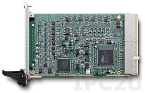 cPCI-6208V/R-GL Плата ввода-вывода 3U cPCI, 8 каналов AO 16 бит, 4 каналов DI, 4 каналов DO, разъемы ввода/вывода на задней части