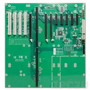 PBPE-13A4 Объединительная плата PICMG 1.3 13 слотов с 1xPICMG, PCIe x16(1), PCIe x16(2, x1 signal), PCIe x4(5, x1 signal), PCI(4)