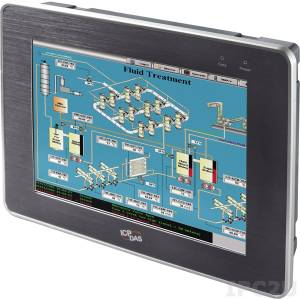 """TP-5120/NP 12.1"""" (800 x 600) TFT LCD монитор с резистивным сенсорным экраном (интерфейс RS-232 и USB), VGA, IP65 по передней панели, температурный диапазон - 20...+70, с комплектом кабелей, без адаптера питания"""